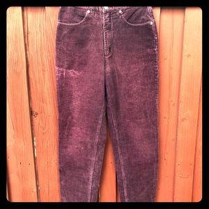 Vintage High Waist J.Crew corduroy pants size 4